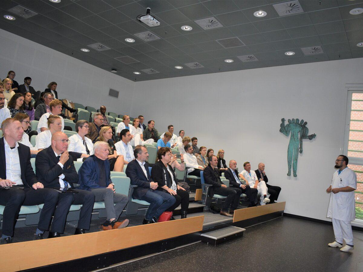 Inauguration of translational research lab at Zealand University Hospital